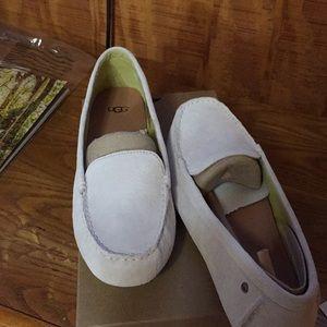 Ugg Milan's boat shoe